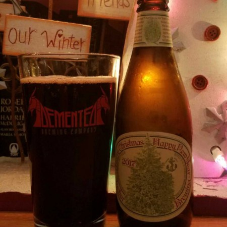 Anchor Steam Christmas Ale.American Craft Beer Classic Anchor Brewing S Merry