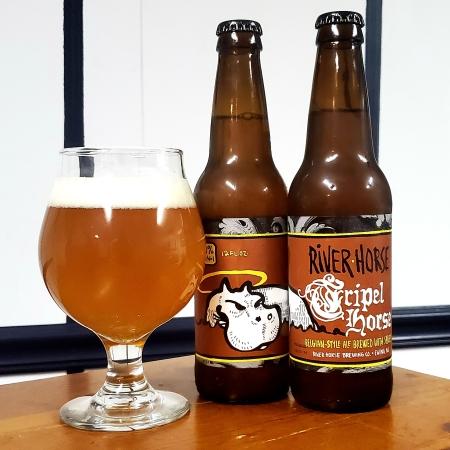 Empty 12oz Craft Beer Bottle Belgium St Bernardus Tripel